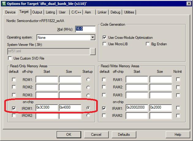 nRF5 SDK v11 0 0: Relocating the bootloader