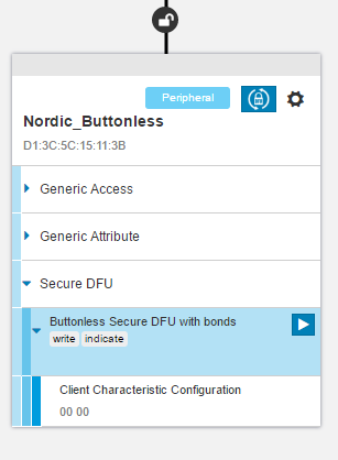nRF5 SDK v15 2 0: Buttonless DFU Template Application