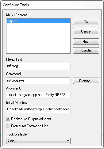 nRF5 SDK v15 2 0: Bootloader