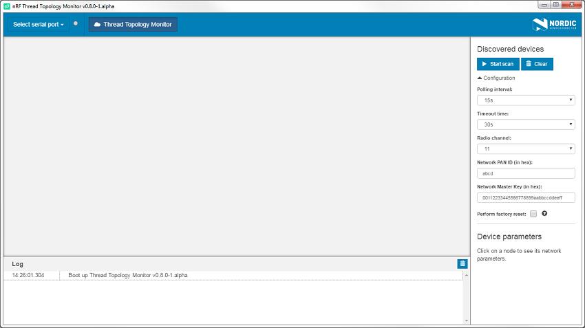 nRF5 SDK for Thread : nRF Thread Topology Monitor